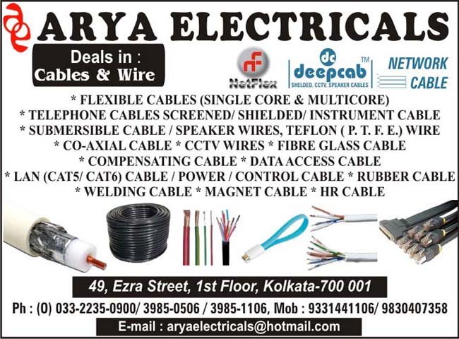 Cable Wires, Electrical Cable Wire Manufacturers & Suppliers