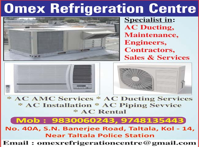 OMEX REFRIGERATION AIR CONDITIONING EQUIPMENT REPAIR & SERVICES in