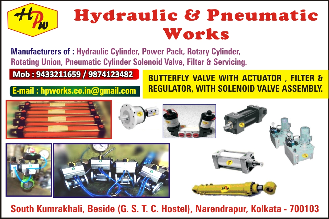 HYDRAULIC & PNEUMATIC WORKS TOOL PNEUMATIC in Kolkata
