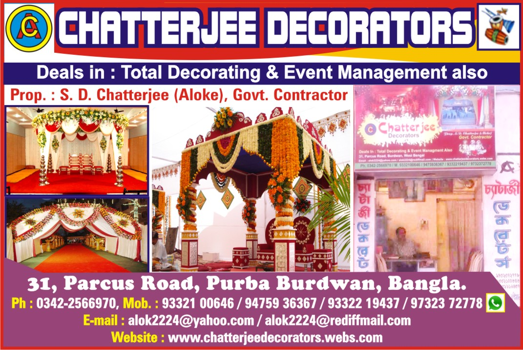 Floral Decoration Mandap Decoration Service Provider In Kolkata