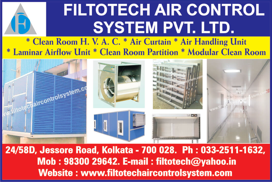 FILTOTECH AIR CONTROL SYSTEM in Kolkata, Air curtain in Kolkata